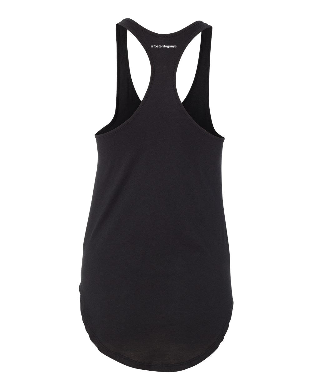Foster Dogs Ladies' Black Tank Top