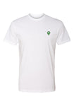 Pledgerunner White Unisex Crew