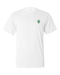 Pledgerunner White PERFORMANCE TEE