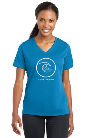 Cause the Wave Ladies V-neck