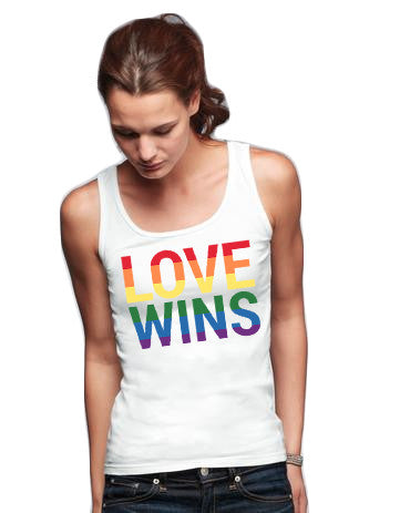 LOVE WINS Ladies Tank