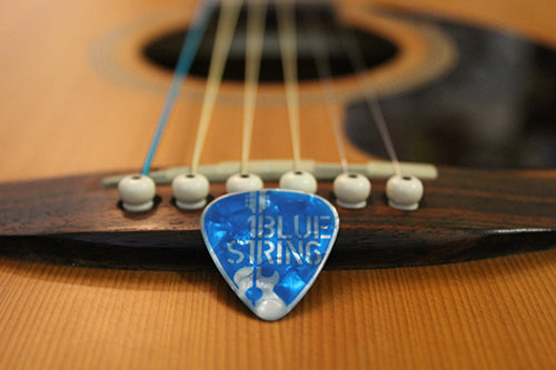 1BlueString - One Blue String & One Blue Pick