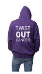 TOC Purple Zip Up Hoodie