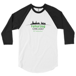 Tutoring Chicago 50th Anniversary Mens 3/4 Sleeve Baseball Tee