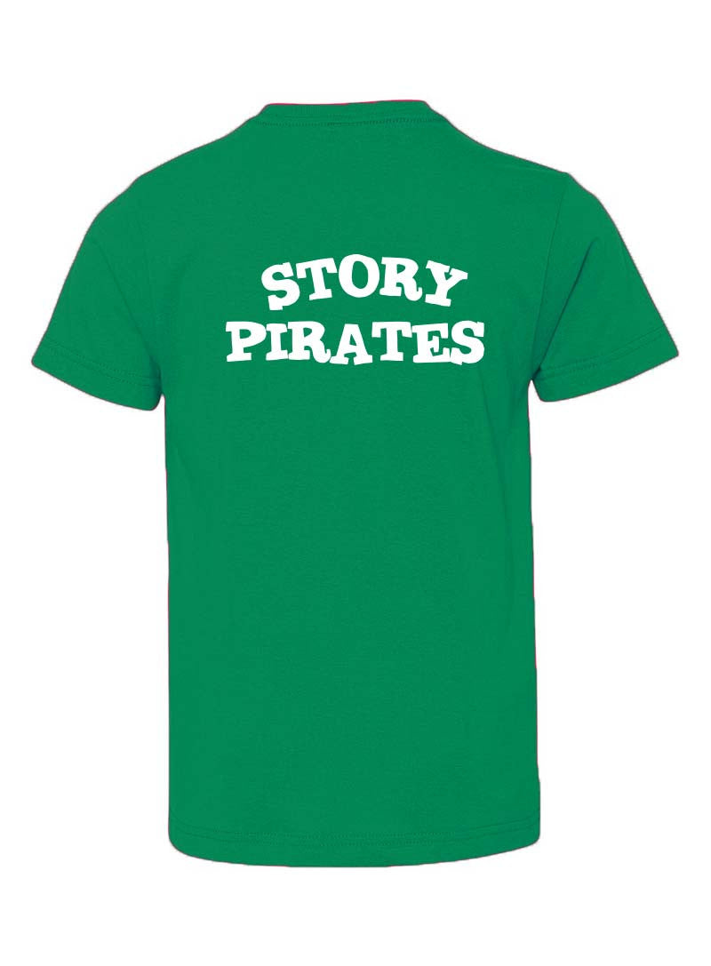 Story Pirates Youth Vintage Green Tee