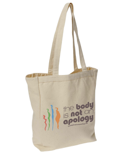 The Body is Not an Apology Book Tote