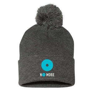 No More Pom Pom Knit Cap