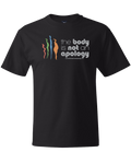 The Body is Not an Apology Black Unisex Tee