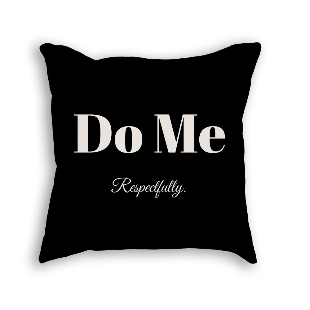 NNEDV Respectfully Pillow – Black