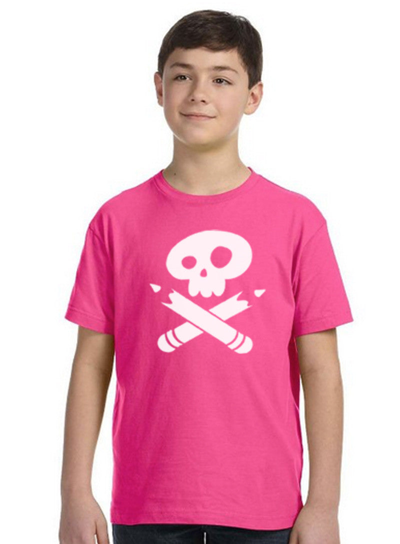 Story Pirates Youth Hot Pink Jersey Tee