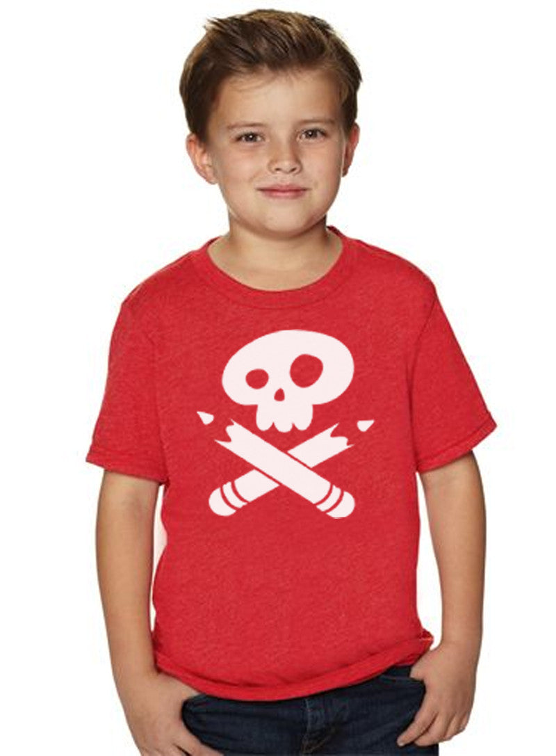Story Pirates Youth Vintage Red Tee