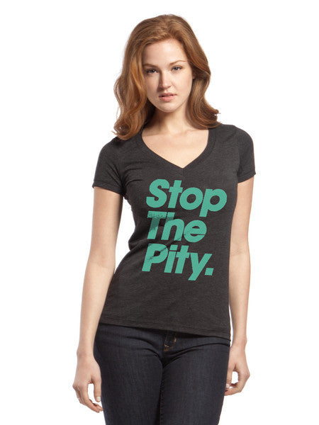 STP Female Blended V neck