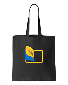 Turn the Pages Black Canvas Tote (Special Edition)