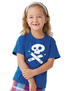 Story Pirates Youth Vintage Blue Tee