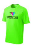 EB Research Neon Green Men's Sport-Tek Performance Tee