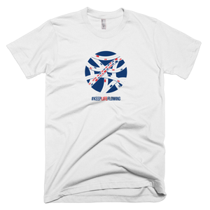 Keep Life Flowing Unisex Tee - White