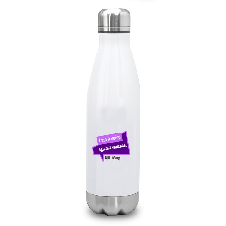 Voice Against Violence Water Bottle