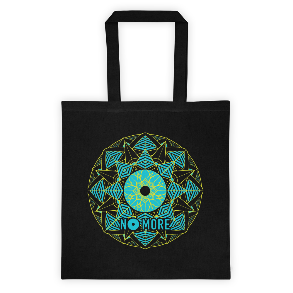 No More Mandala Black Tote - TVP Market