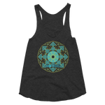 No More Mandala Triblend Racerback