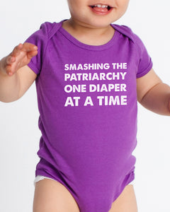 NNEDV Smashing the Patriarchy Onesie – Purple