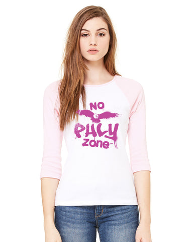 MJF Eagles Pink Baseball Tee