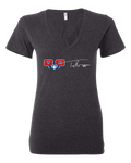 Troy Brown Womens V-Neck Tee