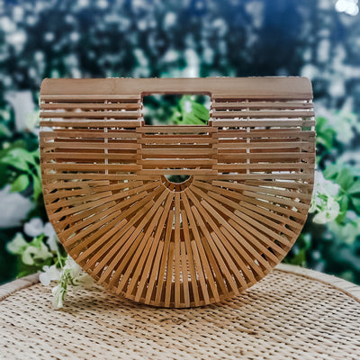 Bamboo Cage Bag