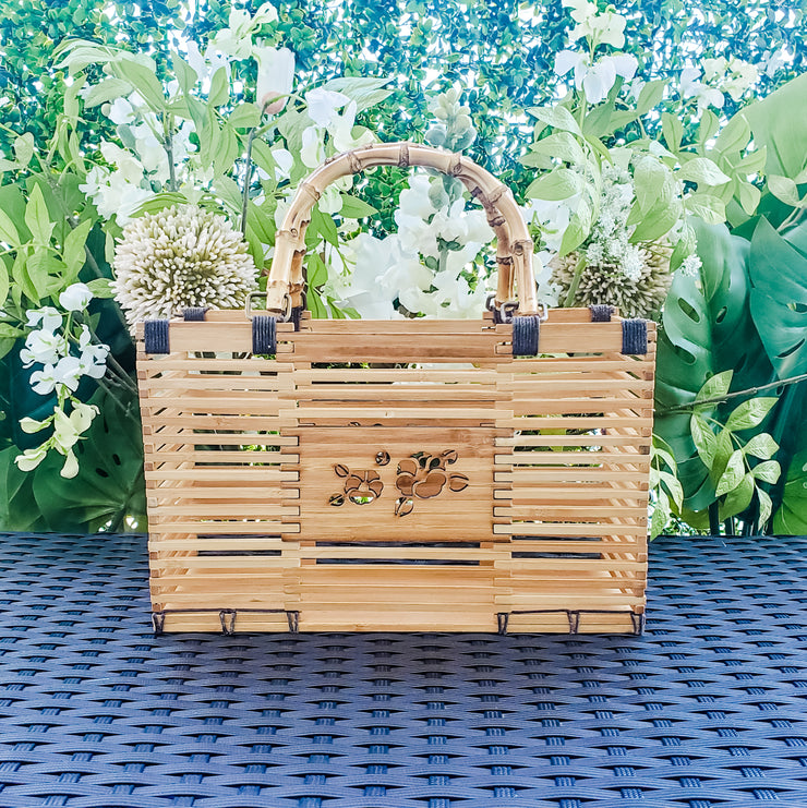 Rectangular Bamboo Tote Bag