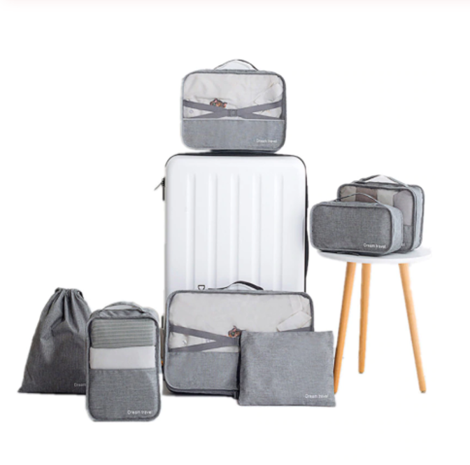 7 Piece Packing Cube Set Free Shipping