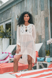 Crochet Cover Up Dress