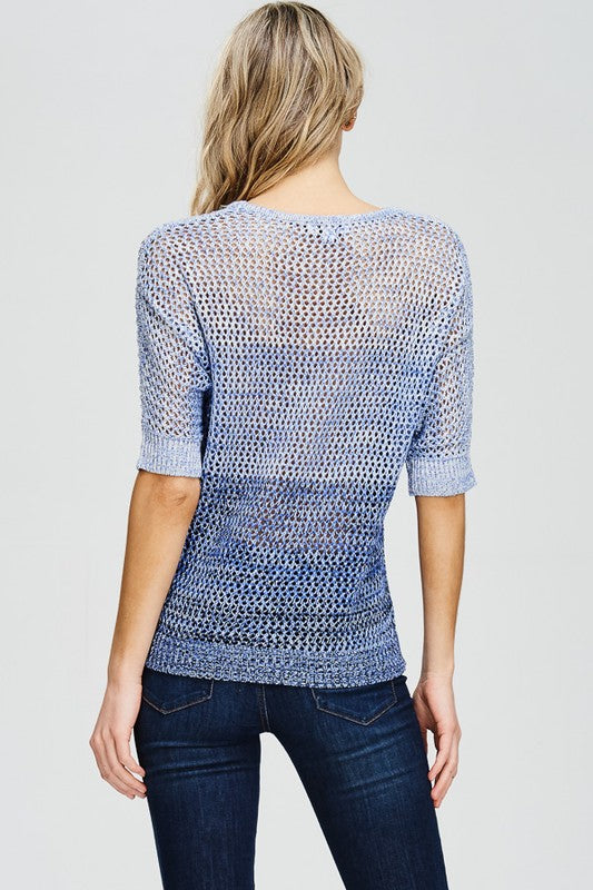 Short Sleeve Sweater Free Shipping