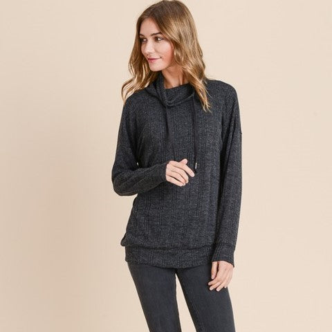 Cowlneck Sweater Free Shipping