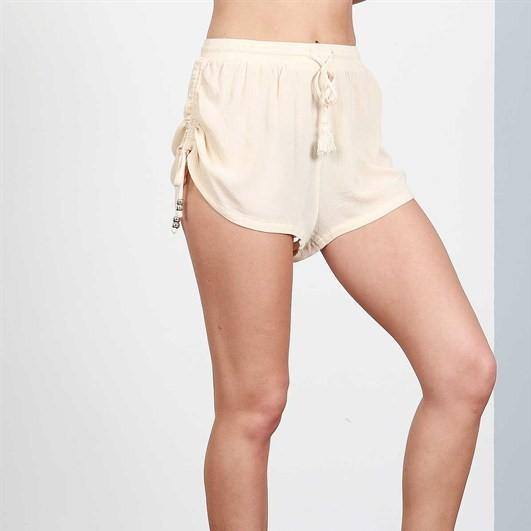 Women's Ruched Shorts Free Shipping