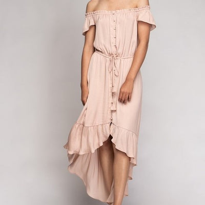 High Low Maxi Dress Free Shipping