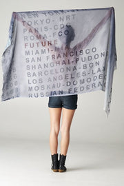 Wanderlust Scarf Free Shipping