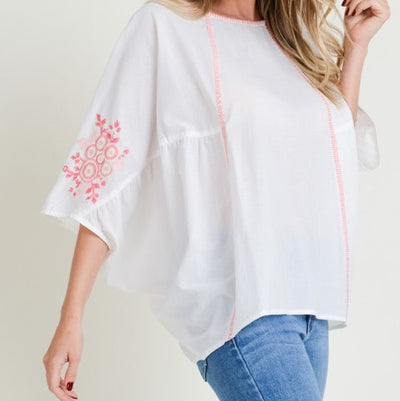 Poncho Blouse Free Shipping