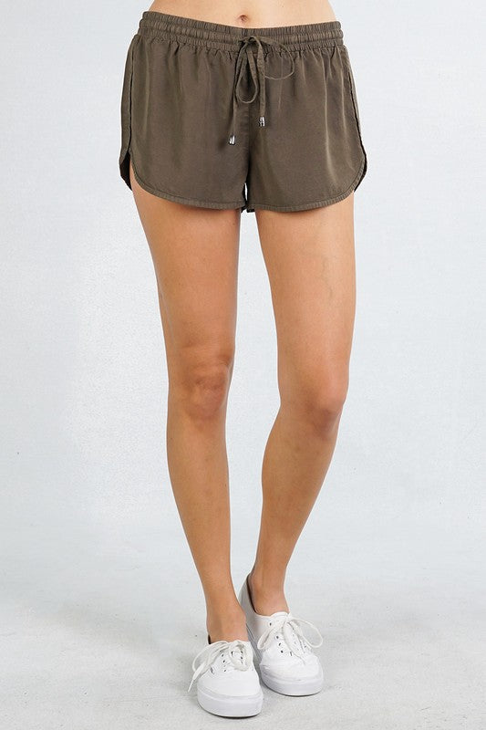 Tencel Shorts Free Shipping