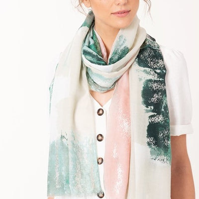Painterly Scarf Free Shipping