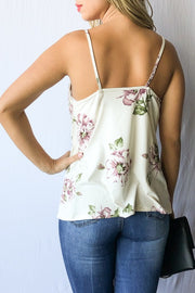 Floral Print Tank Top Free Shipping