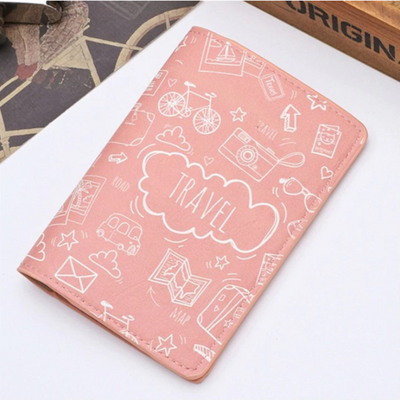Travel Theme Passport Case | Passport Holder | CraveLyfe