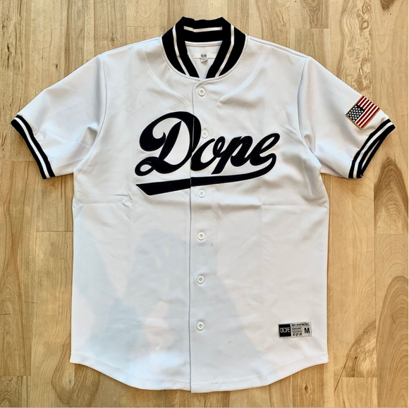 Dope Infield Jersey (White)