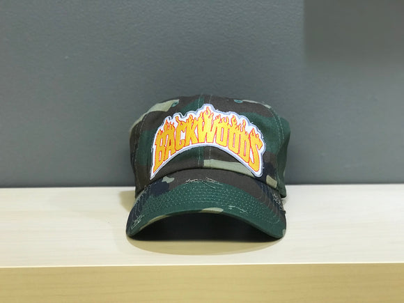 Backwoods Flame Dad Hat