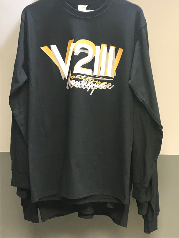 V2III Distorted logo