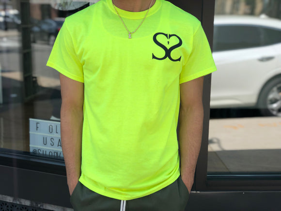 Double S Highlighter Tee