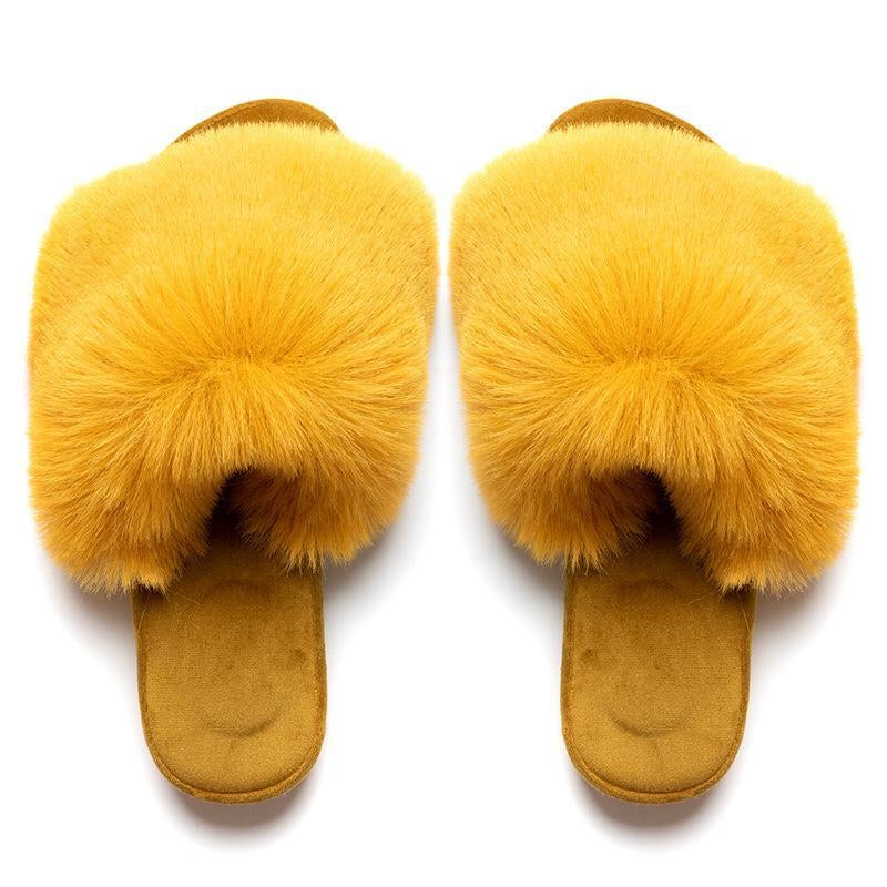 Fluffy Yellow Sliders