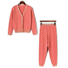 Load image into Gallery viewer, Condo Pink Printed Loungewear Set