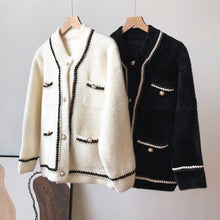 Load image into Gallery viewer, Coco Black Cardigan/Jacket
