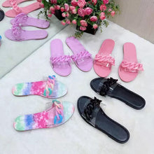Load image into Gallery viewer, Chain Pink Sandal/Shoes