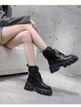Load image into Gallery viewer, Chunky Pocket Boots Black