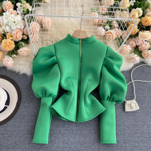 Load image into Gallery viewer, Lotianne Green Cardigan